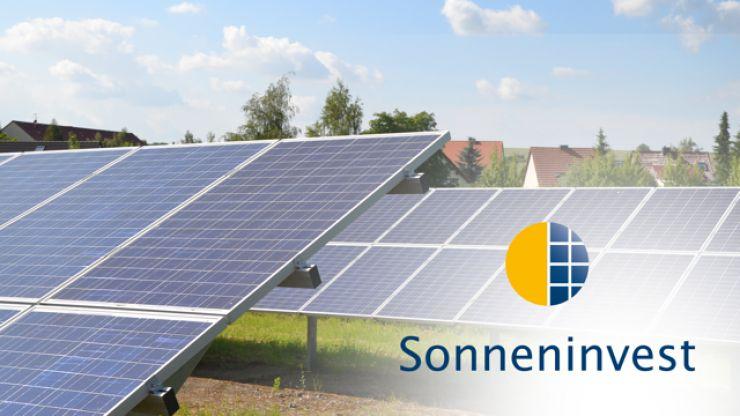 Neues Funding auf Econeers: Sonneninvest