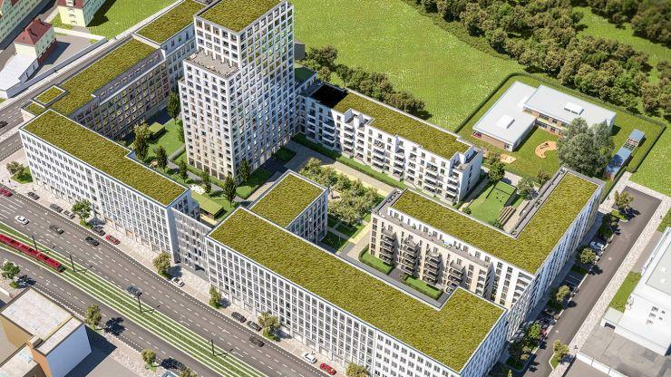 Crowdinvesting in Geschäftsquartier: zinsbaustein.de mit neuem Immobilienprojekt in Nürnberg