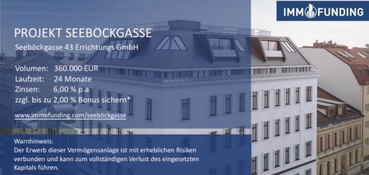 GOES Live: Projekt Seeböckgasse online // IMMOFUNDING