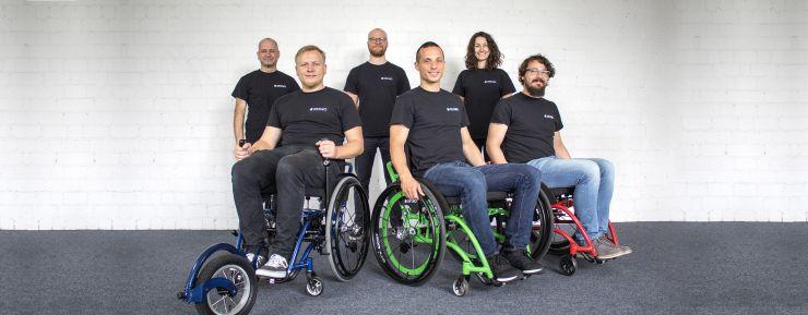 """""""DESINO"""": Rollstuhl-Start-Up setzt auf Crowdfunding"""